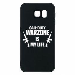 Чехол для Samsung S6 Call of duty warzone is my life M4A1