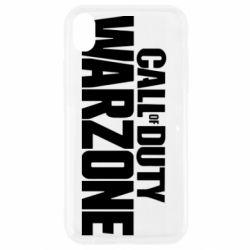 Чохол для iPhone XR Call of Duty: Warzone