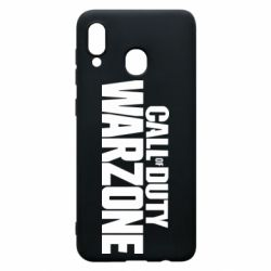 Чохол для Samsung A20 Call of Duty: Warzone