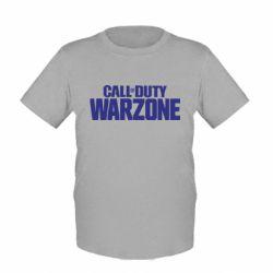 Дитяча футболка Call of Duty: Warzone