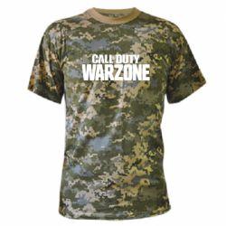 Камуфляжна футболка Call of Duty: Warzone