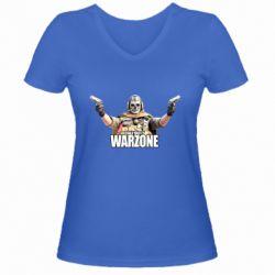 Женская футболка с V-образным вырезом Call Of Duty Warzone