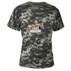 Камуфляжная футболка Call Of Duty Warzone