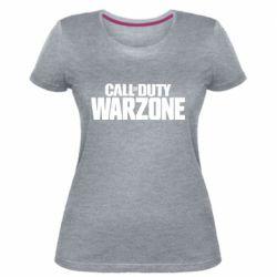 Жіноча стрейчева футболка Call of Duty: Warzone