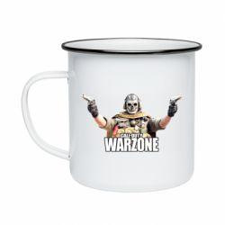 Кружка эмалированная Call Of Duty Warzone