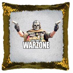 Подушка-хамелеон Call Of Duty Warzone