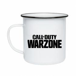 Кружка емальована Call of Duty: Warzone