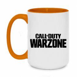 Кружка двоколірна 420ml Call of Duty: Warzone