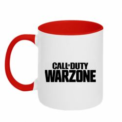 Кружка двоколірна 320ml Call of Duty: Warzone
