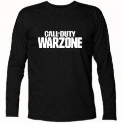 Футболка з довгим рукавом Call of Duty: Warzone