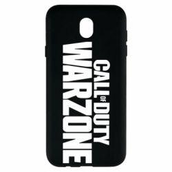 Чохол для Samsung J7 2017 Call of Duty: Warzone