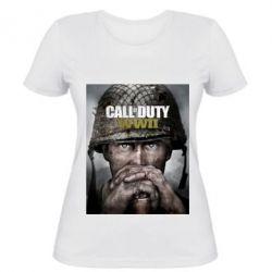 Жіноча футболка Call of Duty WW2 poster