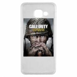 Чохол для Samsung A3 2016 Call of Duty WW2 poster
