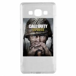 Чохол для Samsung A5 2015 Call of Duty WW2 poster