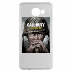 Чохол для Samsung A5 2016 Call of Duty WW2 poster