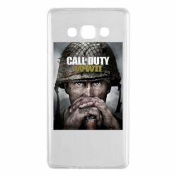 Чохол для Samsung A7 2015 Call of Duty WW2 poster