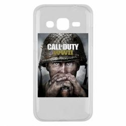 Чохол для Samsung J2 2015 Call of Duty WW2 poster