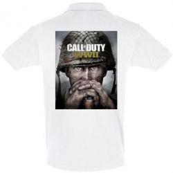 Футболка Поло Call of Duty WW2 poster