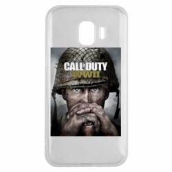 Чохол для Samsung J2 2018 Call of Duty WW2 poster