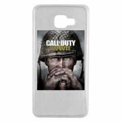 Чохол для Samsung A7 2016 Call of Duty WW2 poster