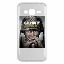 Чохол для Samsung J3 2016 Call of Duty WW2 poster
