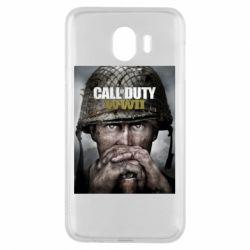 Чохол для Samsung J4 Call of Duty WW2 poster
