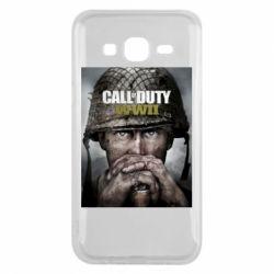 Чохол для Samsung J5 2015 Call of Duty WW2 poster