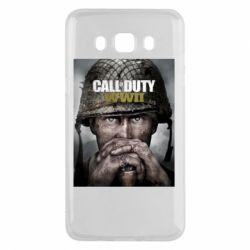 Чохол для Samsung J5 2016 Call of Duty WW2 poster