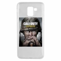 Чохол для Samsung J6 Call of Duty WW2 poster