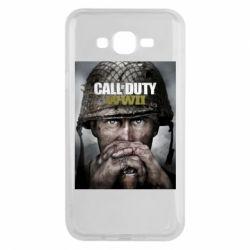 Чохол для Samsung J7 2015 Call of Duty WW2 poster