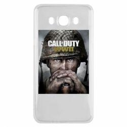 Чохол для Samsung J7 2016 Call of Duty WW2 poster