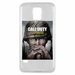 Чохол для Samsung S5 Call of Duty WW2 poster