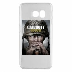 Чохол для Samsung S6 EDGE Call of Duty WW2 poster