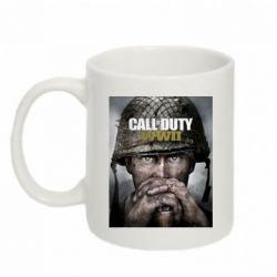 Кружка 320ml Call of Duty WW2 poster