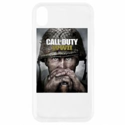 Чохол для iPhone XR Call of Duty WW2 poster