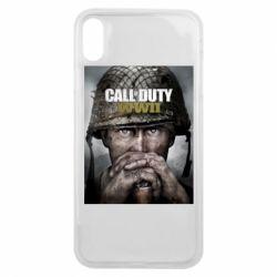 Чохол для iPhone Xs Max Call of Duty WW2 poster