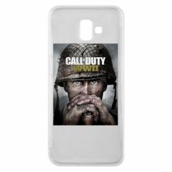 Чохол для Samsung J6 Plus 2018 Call of Duty WW2 poster