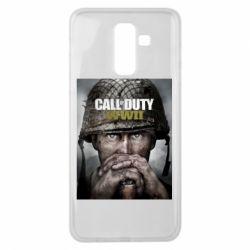 Чохол для Samsung J8 2018 Call of Duty WW2 poster