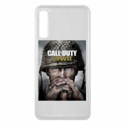 Чохол для Samsung A7 2018 Call of Duty WW2 poster