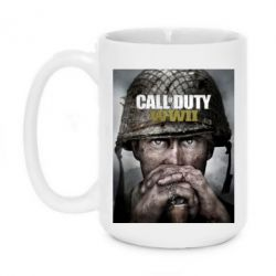 Кружка 420ml Call of Duty WW2 poster