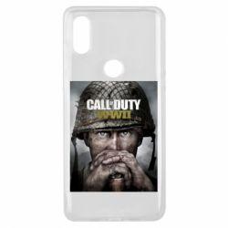 Чохол для Xiaomi Mi Mix 3 Call of Duty WW2 poster