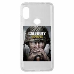 Чохол для Xiaomi Redmi Note Pro 6 Call of Duty WW2 poster