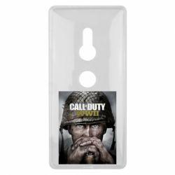 Купить Чехол для Sony Xperia XZ2 Call of Duty WW2 poster, FatLine