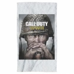 Рушник Call of Duty WW2 poster