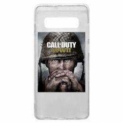 Чохол для Samsung S10+ Call of Duty WW2 poster