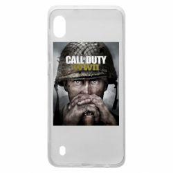 Чохол для Samsung A10 Call of Duty WW2 poster