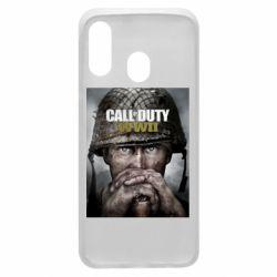 Чохол для Samsung A40 Call of Duty WW2 poster