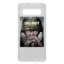 Чохол для Samsung S10 Call of Duty WW2 poster