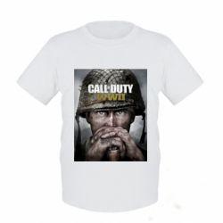 Дитяча футболка Call of Duty WW2 poster