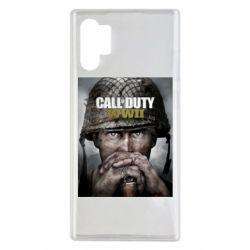 Чохол для Samsung Note 10 Plus Call of Duty WW2 poster